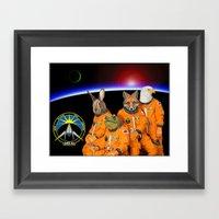 STARFOX - The Lylat Space Program Framed Art Print