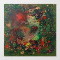 Biomorphic Pool 2 Canvas Print