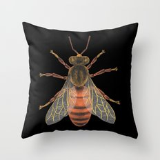 Bee (Abeille) Throw Pillow