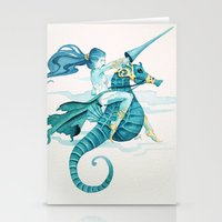 Sea Warrior Stationery Cards
