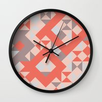 TangerineTango Wall Clock