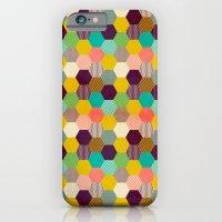 Fun Hexagon iPhone 6 Slim Case