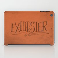 Handwriting: ExHipster iPad Case