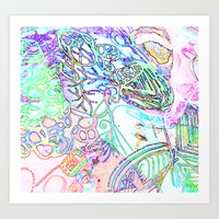 spec vertebraeyes Art Print