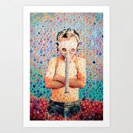 Stop Nuclear Art Print