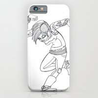 iPhone & iPod Case featuring Punk grrrl by kate collins