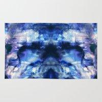 Blue Lagoon Tie-Dye Rug