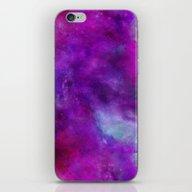 iPhone & iPod Skin featuring Purple Sphere by LebensART