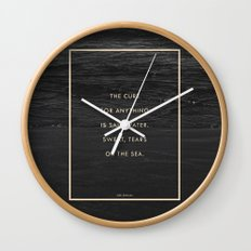 Salt Water Wall Clock