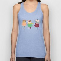 The Cats. Unisex Tank Top
