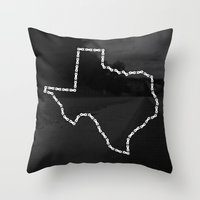 Ride Statewide - Texas Throw Pillow