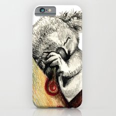 Koala sleeping iPhone 6s Slim Case