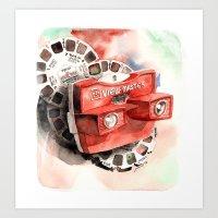Vintage gadget series: View-Master Model G Art Print