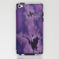 Purple Explosion iPhone & iPod Skin