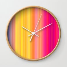 Society Sunset Wall Clock