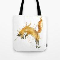 Jump Foxy Tote Bag