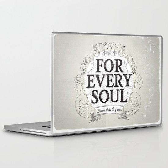 Every Soul Laptop & iPad Skin