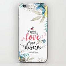 Chbosky - We Accept The … iPhone & iPod Skin