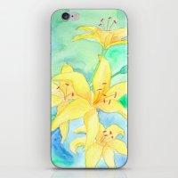 Lilies iPhone & iPod Skin
