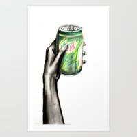 Do the Dew Art Print