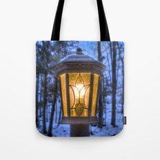 Frozen Lantern Tote Bag