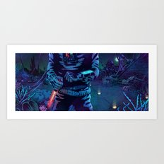 Execute Art Print