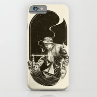 iPhone & iPod Case featuring The Lighthouse Keeper by Kyle Cobban