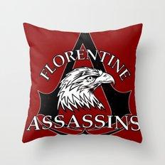 Florentine Assassins Throw Pillow