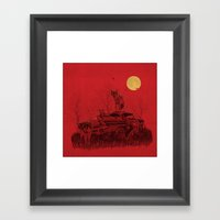 family guard Framed Art Print