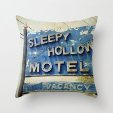 Sleepy Hollow Throw Pillow