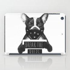 Rebel dog iPad Case