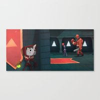 Castle Creep. Canvas Print