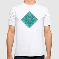 Kaleido Wired Rain Mens Fitted Tee Ash Grey SMALL