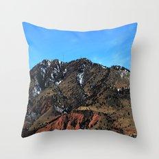 The Rockies Throw Pillow