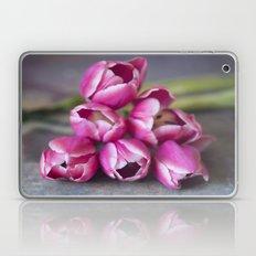 Beautiful Red Tulips Laptop & iPad Skin