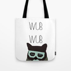 dubstep cat Tote Bag