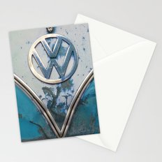 Blue Rusty VW Stationery Cards
