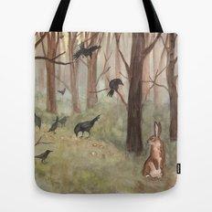 Breadcrumbs Tote Bag