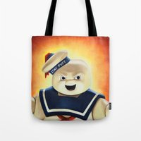 Stay Puft Marshmallow Ma… Tote Bag