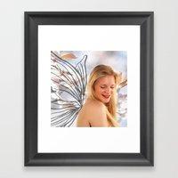 Flower Fair II Framed Art Print