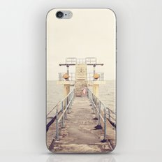 Diving Board iPhone & iPod Skin