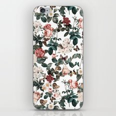 Floral and Butterflies II iPhone & iPod Skin