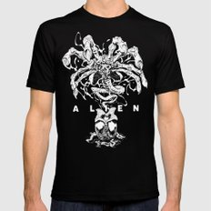 ALIEN: FACEHUGGER Mens Fitted Tee Black SMALL