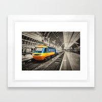HST Paddington Framed Art Print