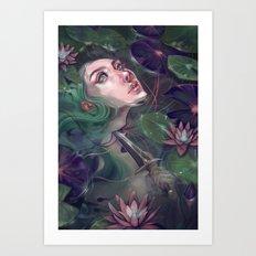 Spirit of the Lake Art Print