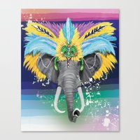 Life is a Carnival Canvas Print