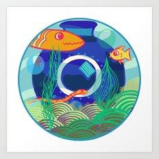 Fish Dreams Art Print