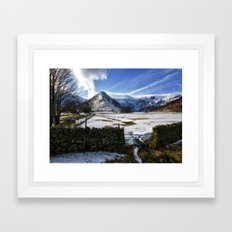 The Lake District Framed Art Print