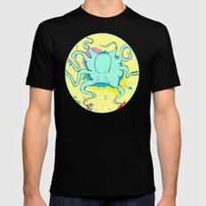 Cephalopoda  Mens Fitted Tee Black SMALL