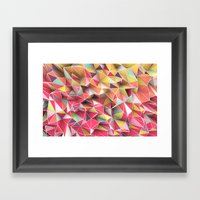 Kaos Fashion Framed Art Print